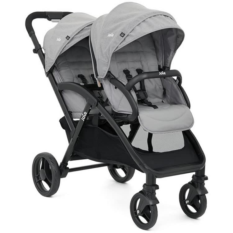 Joie evalite™ duo | Tandem Pushchair For Newborns & Toddlers | Parent-Favourite Double Pushchair