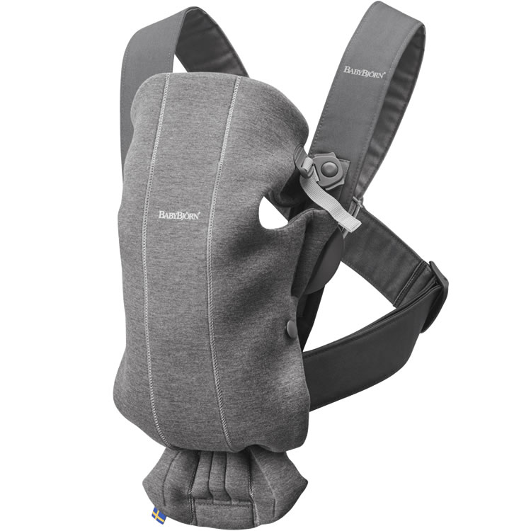 BABYBJÖRN - How to use the facing in position for newborn on Baby Carrier Mini