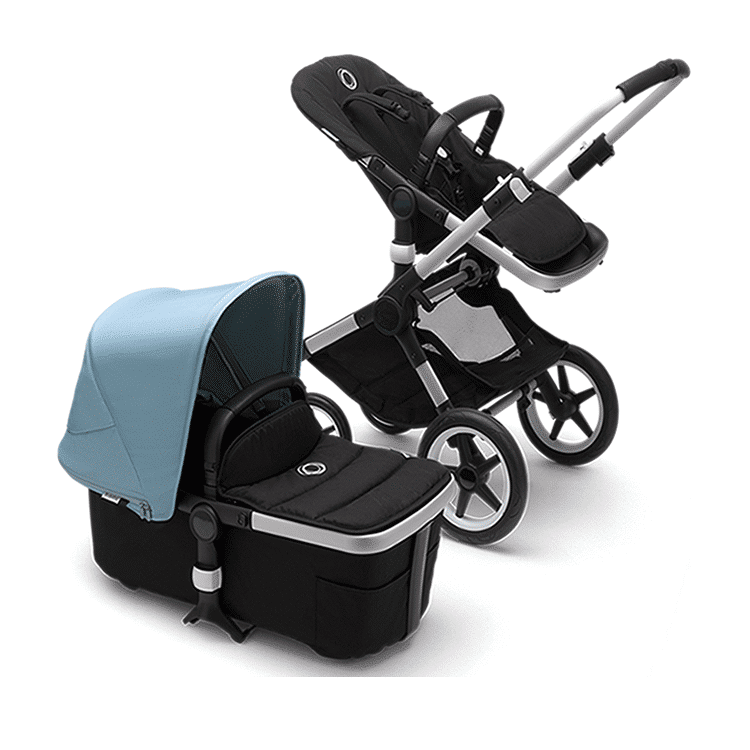 Bugaboo Fox 2   All-terrain stroller - How to fold your stroller (one-piece, self-standing fold)