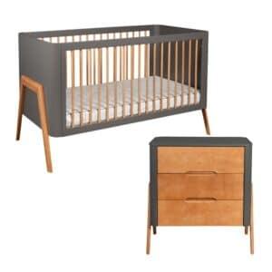 Torsten Cot Bed and Dresser Set